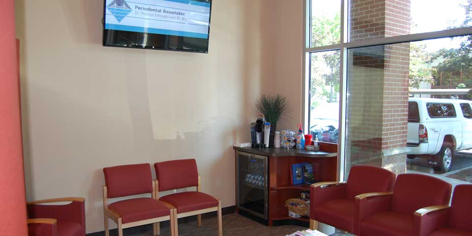 Lobby area at Periodontal Associates